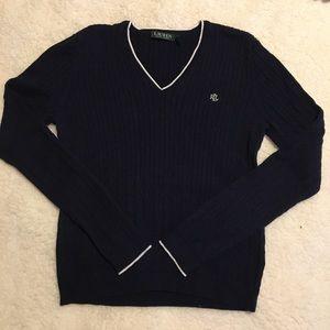 Navy Ralph Lauren sweater